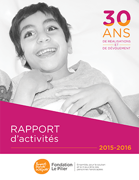 RA - Fondation Le Pillier 2015-16