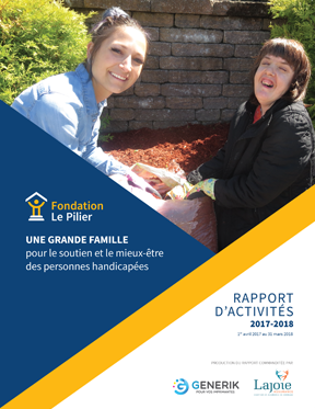 RA - Fondation Le Pillier 2017-18