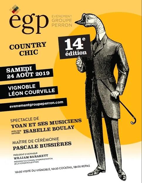 Invitation Événement Groupe Perron 24 août 2019